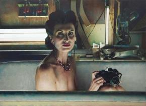 LAUNDRY DAY2006Oil on Dibond153 x 211 cm