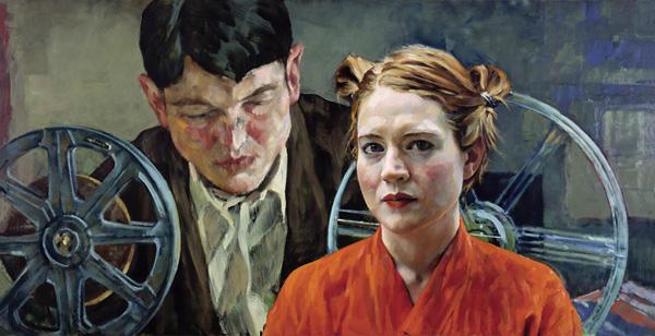 Painting Xenia Hausner