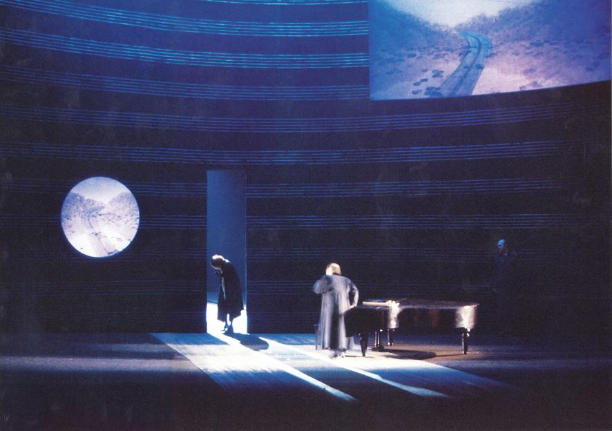 """Stage setting """"Der ferne Klang"""""""